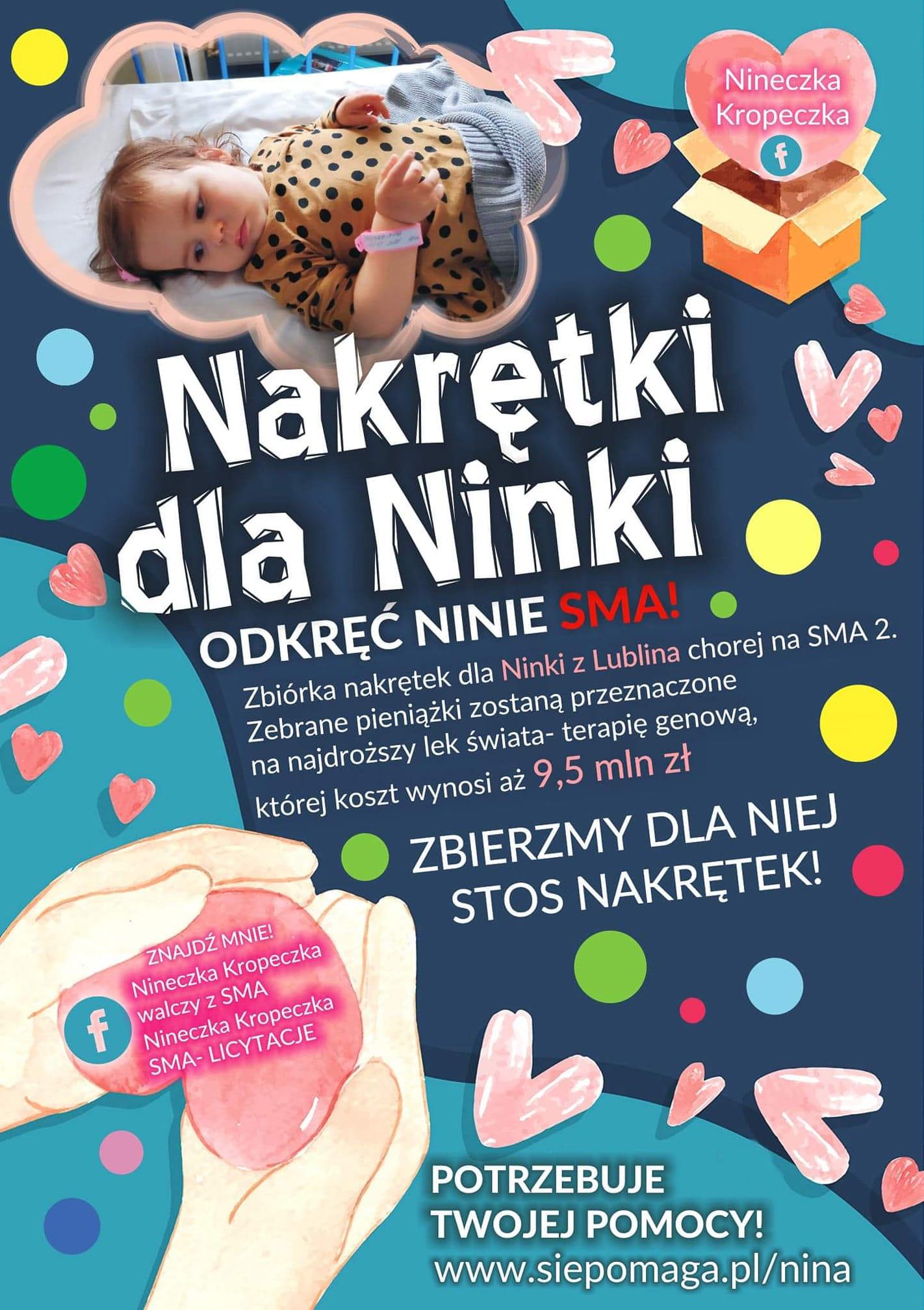 Pomoc dla Niny z Lublina